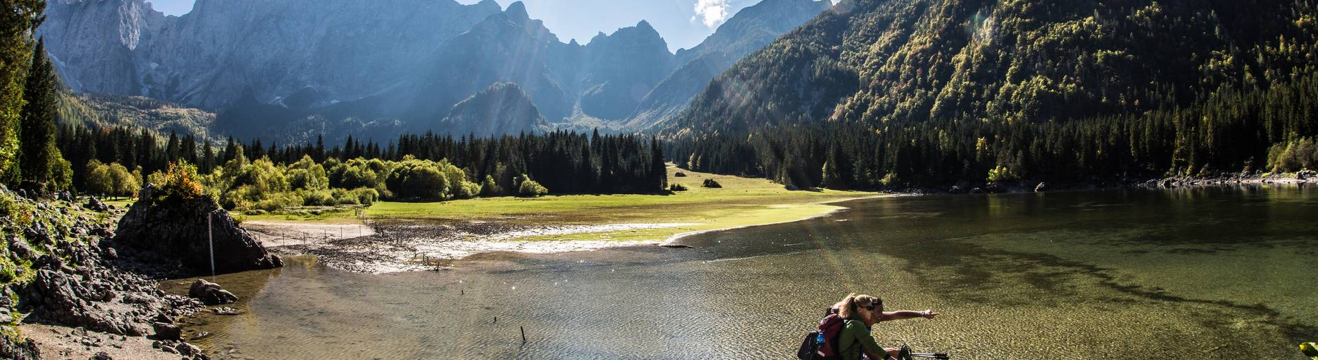 Alpe-Adria-Trail RT5 Weissenfelser Seen