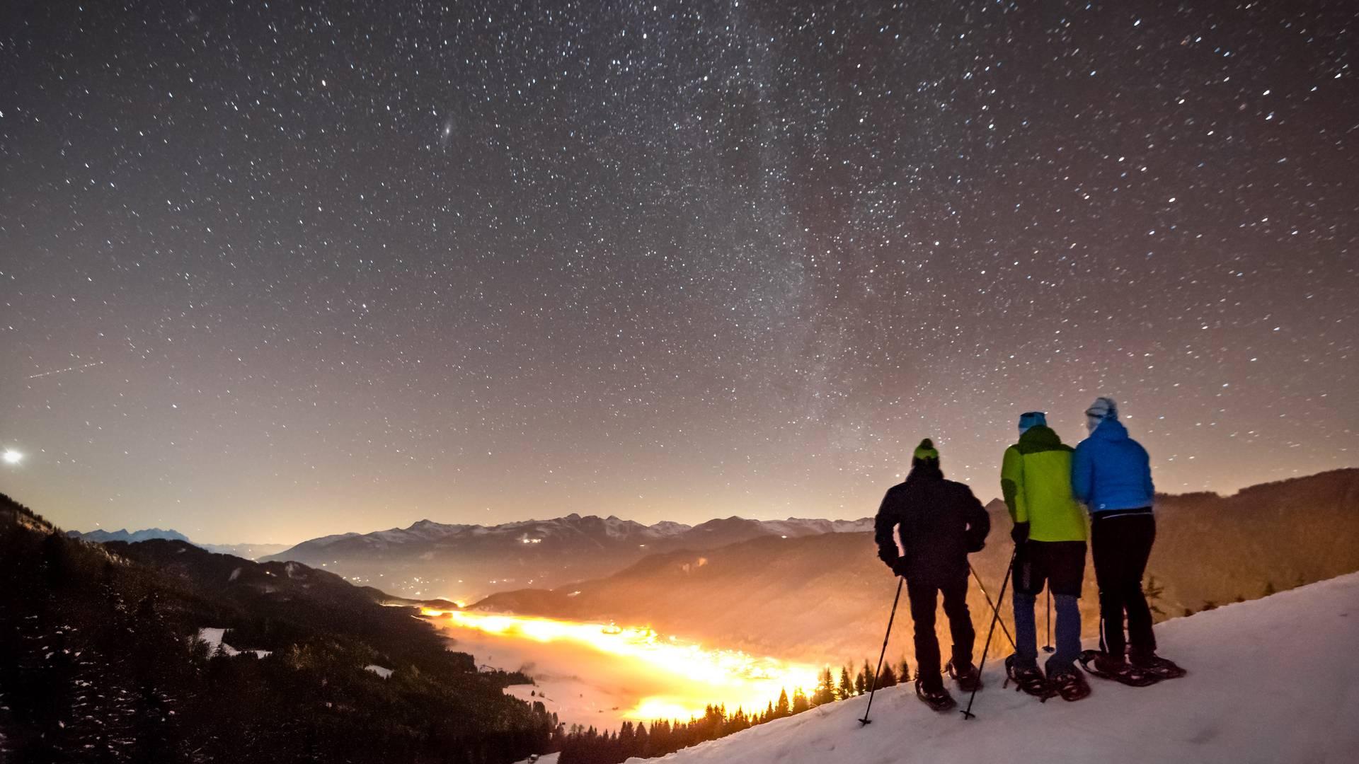 Weissensee Sterne schauen