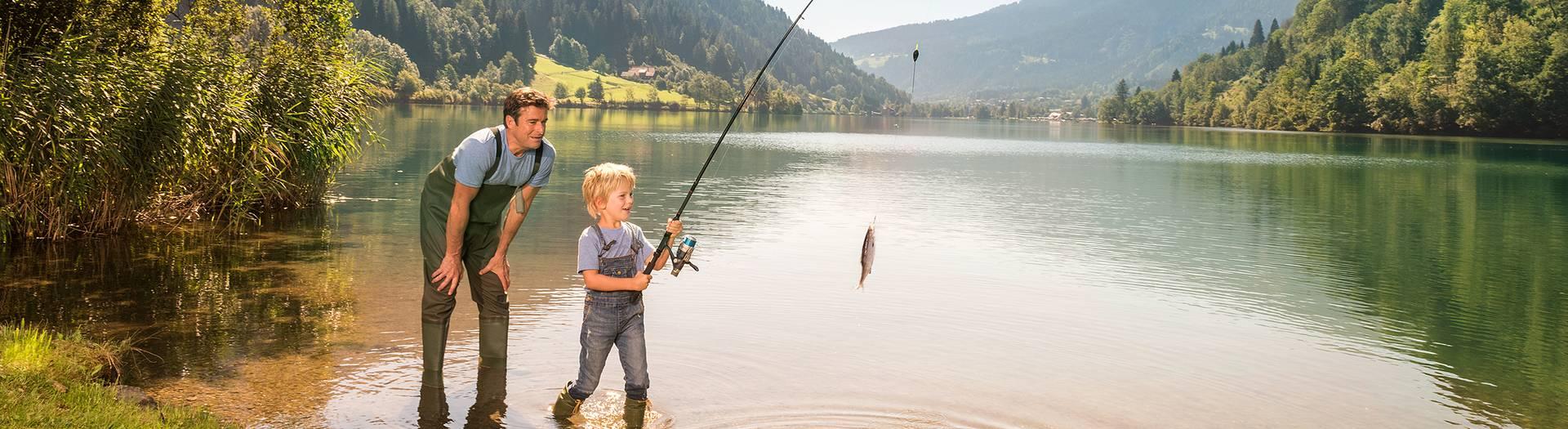 Geschmack der Kindheit Afritzer See c Kaernten Werbung Edward Groeger Slider