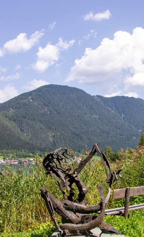 Wandern in der Region Weissensee