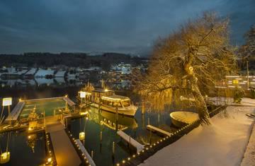 Hotel Kollers_Winter bei Nacht