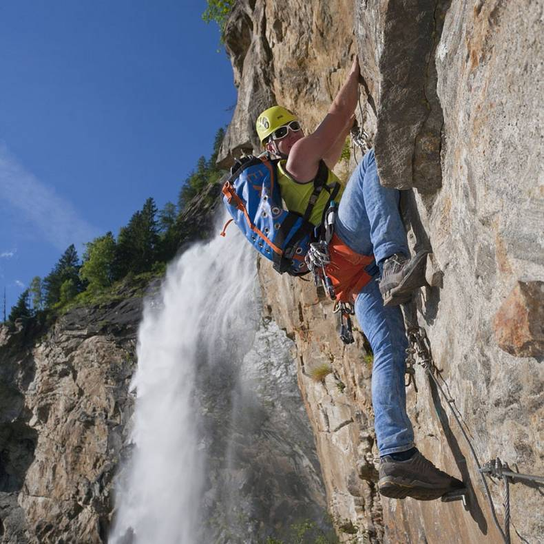 Wassererlebnispark Maltatal Fallbacher Klettersteig