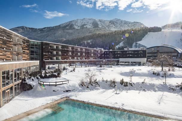 Falkensteiner Hotel Spa Carinzia Exterior Winter