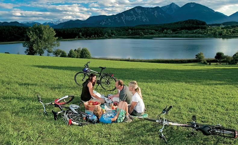 Radfahren mit der Familie © Kärnten Werbung, Zupanc