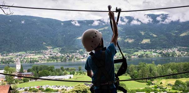 Social Kletterwald Ossiacher See Sabrina Schuett