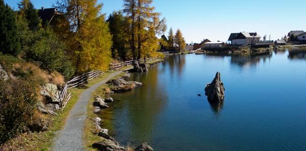 Alpe-Adria-Trail Falkertsee