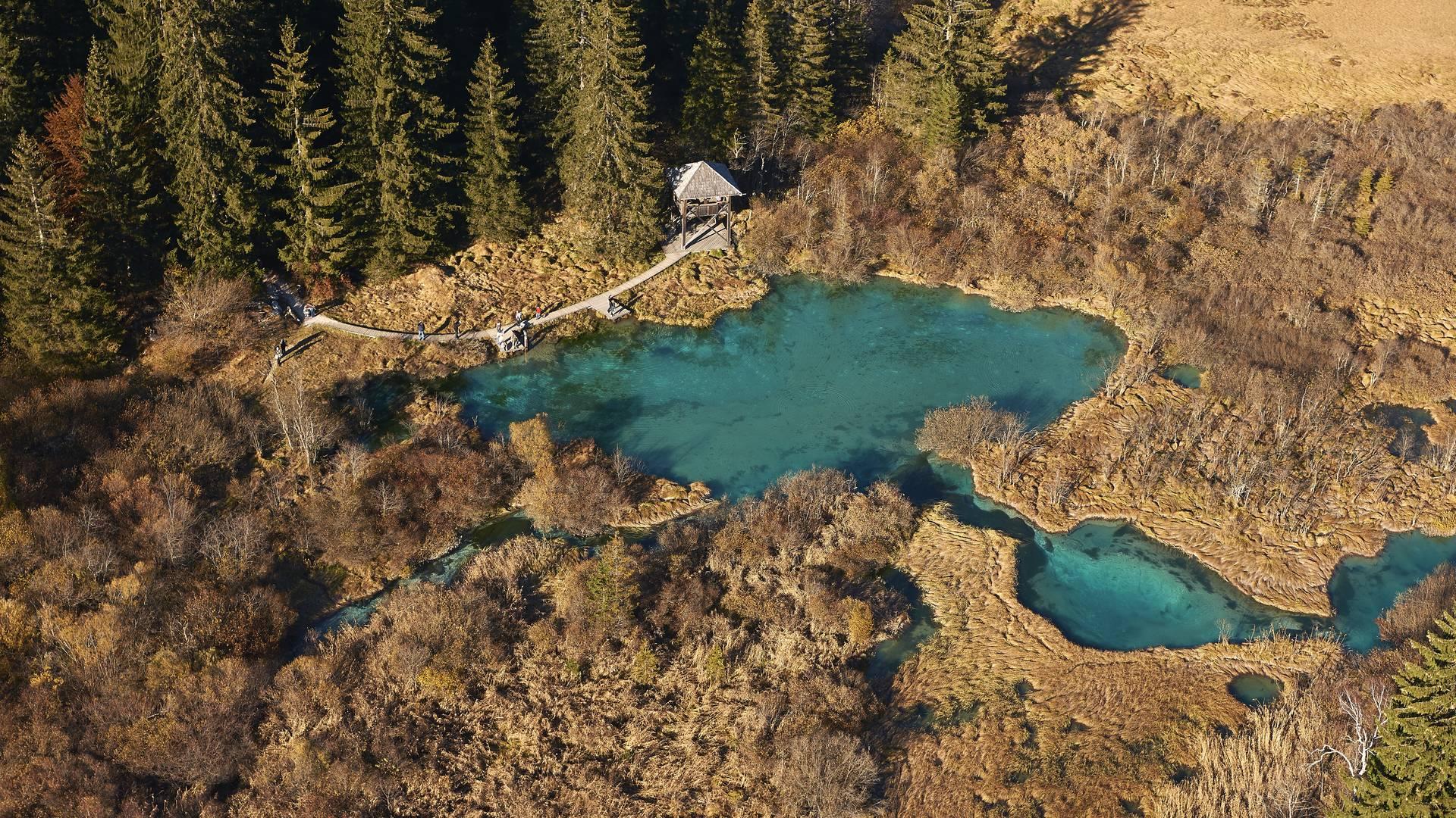 Alpe-Adria-Trail Zelenci