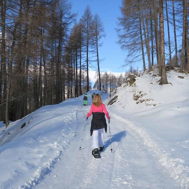Heiligenblut Schneeschuhwandern c ReiseSpatz Sabine Schwaighofer