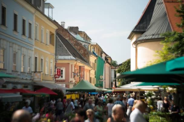 Klagenfurt Benediktinermarkt