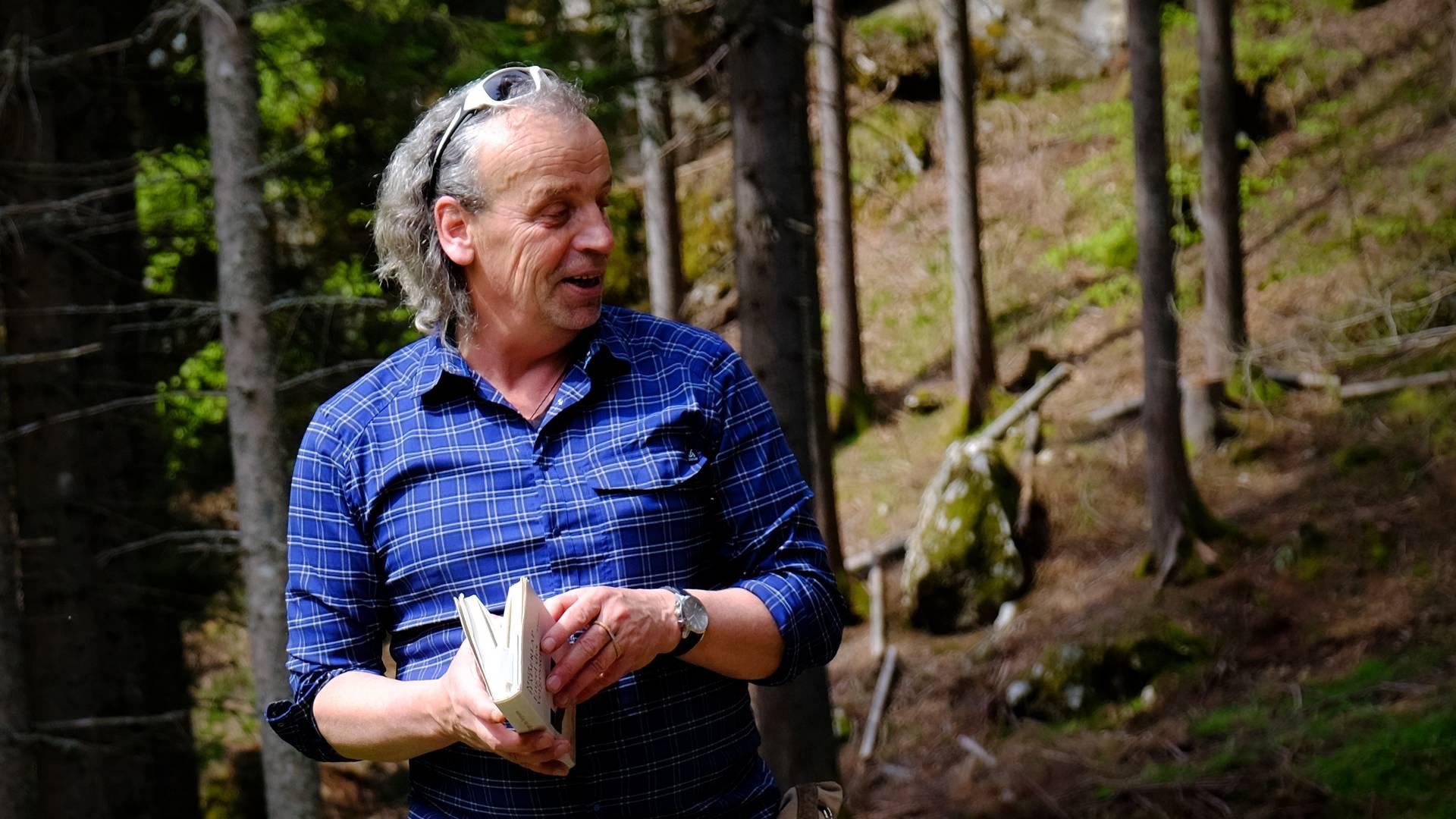 Zdravko Haderlap kennt viele Geschichten aus der Region