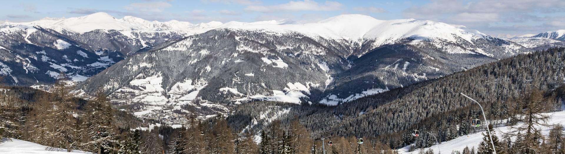 Skifahren Kaiserburgabfahrt Bad Kleinkirchheim