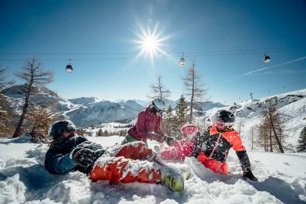 Family Spass im Schnee