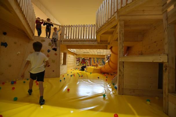 Kinderberreich in der Kletterhalle Villach Stefan Pohinig