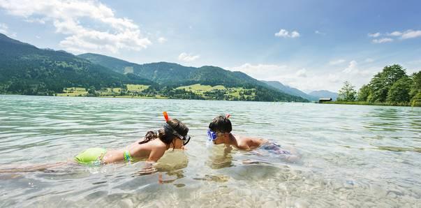 Familienurlaub Weissensee © Kärnten Werbung, Fotograf Edward Groeger