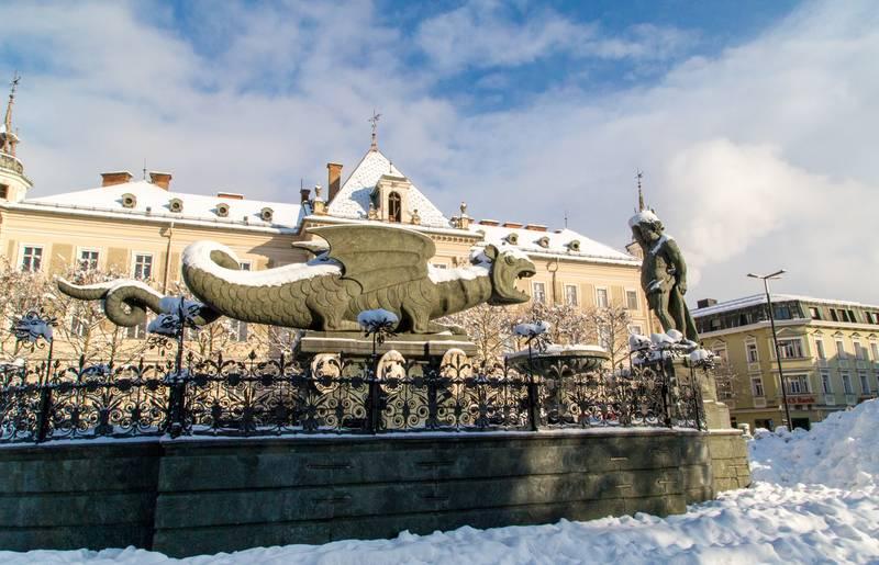 Advent Klagenfurt Highlight Winter Lindwurm