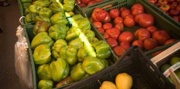 Gemuese am Markt
