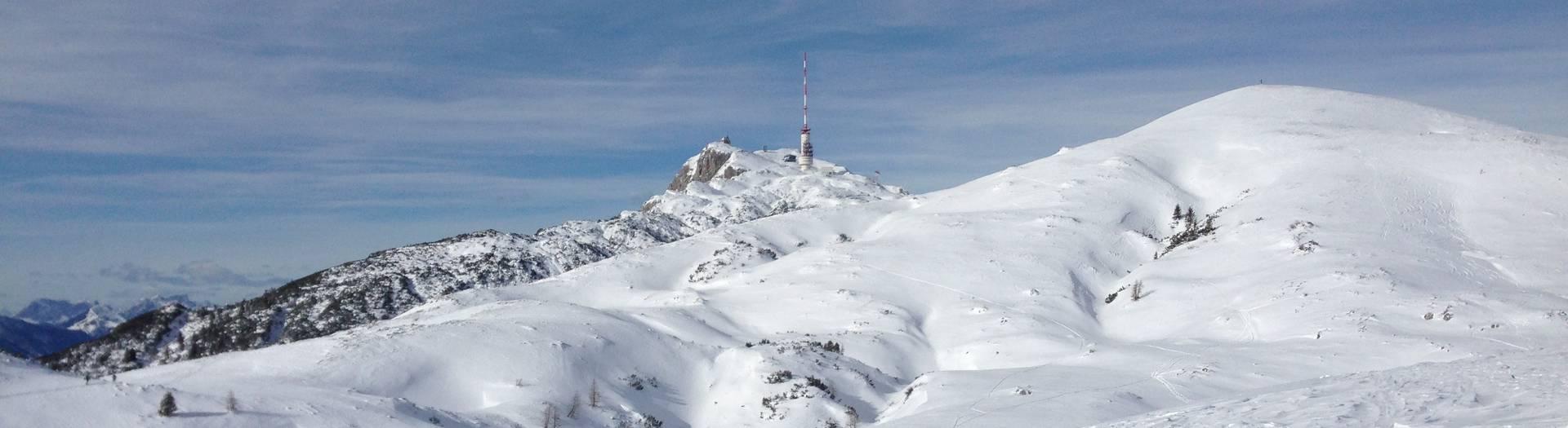 Dobratsch Skitour von Heiligengeist