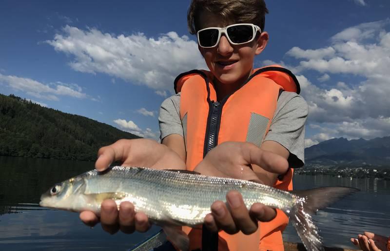 Fischen am Millstätter See