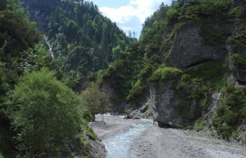 Ochsenschlucht in Berg im Drautal