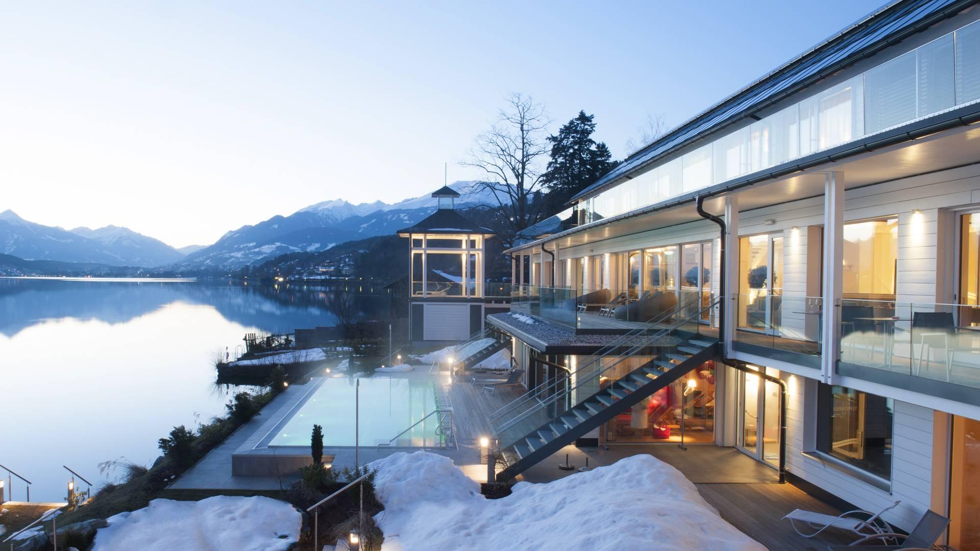 Kaernten Badehaus Millstaetter See