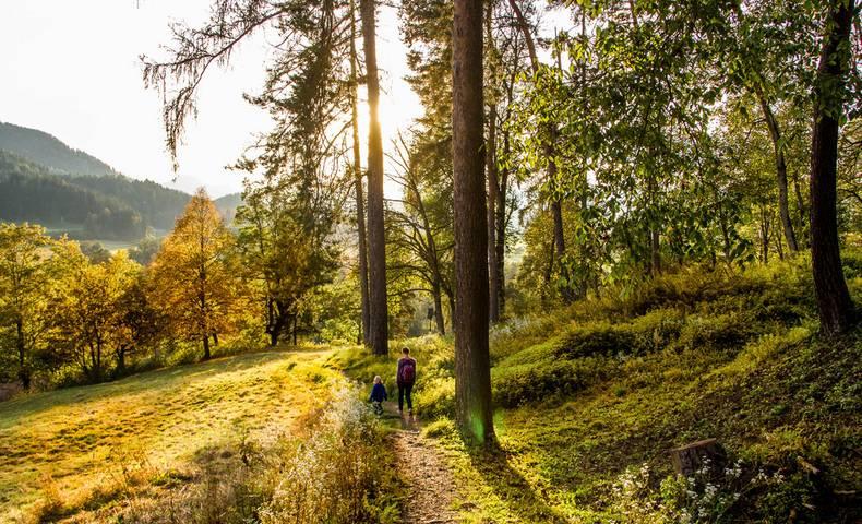 Spaziergang zur Burg Hochosterwitz © pixelpoint multimedia