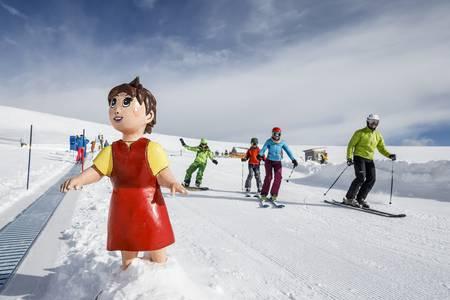 Gratis Skifahren lernen mit Heidi