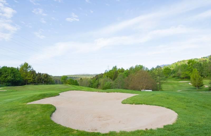 schöne, grüne Golfanlagen in Kärnten.