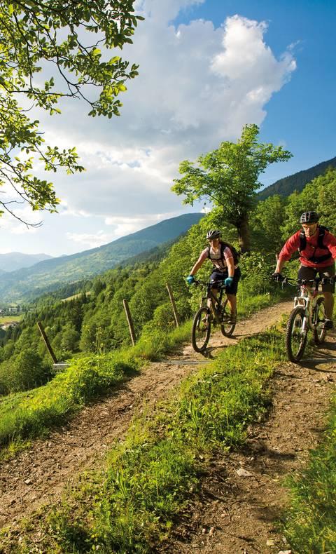 Mountainbiken in den Nockbergen