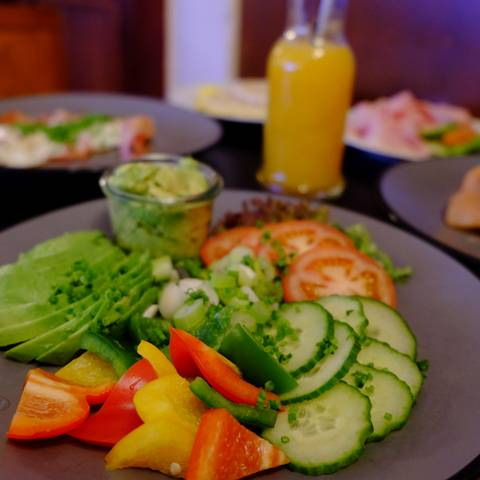Frühstück im Cafe Stern Kaiser Josef Platz
