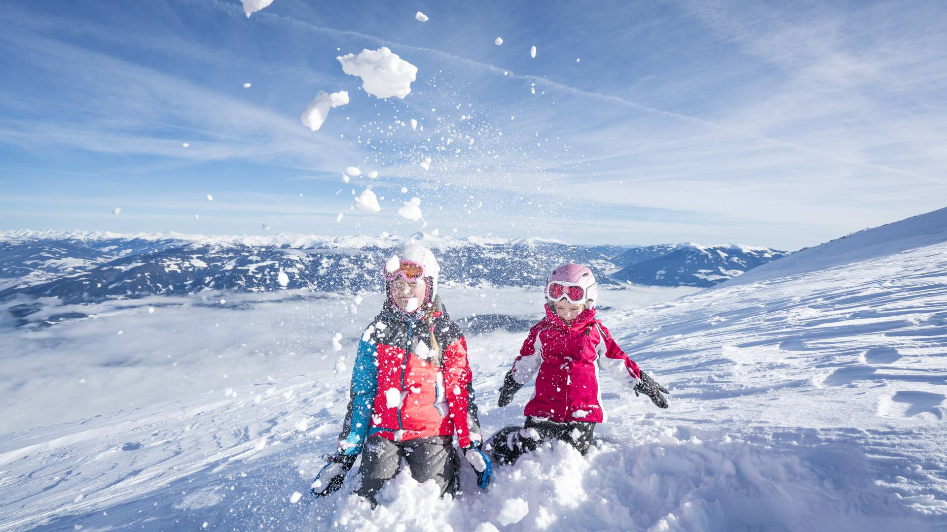 Winter in der Region Millstaettersee Familienspass