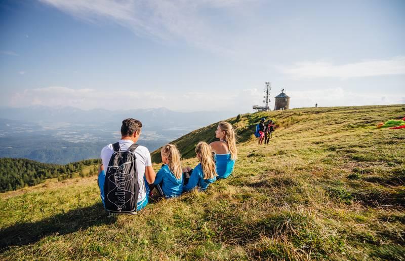 Auf der Gerlitzen Alpe mit der Familie