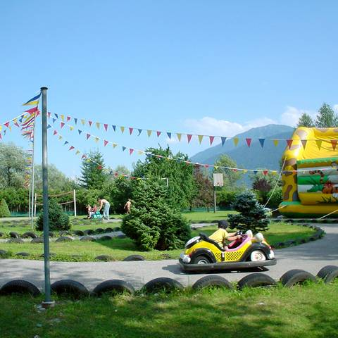 Go Cart im 1. Erlebnispark Pressegger See