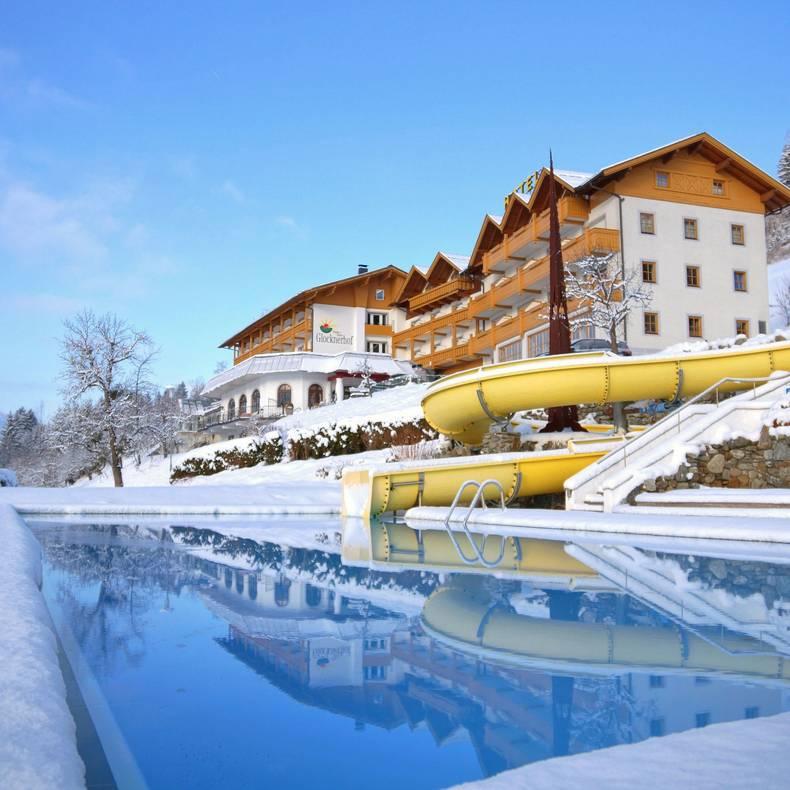 Hotel Glocknerhof im Winter_Berg im Drautal - Pool