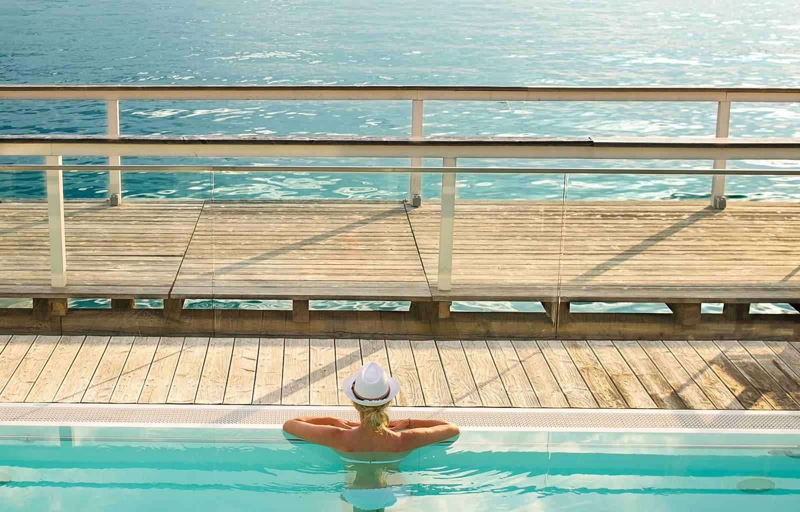 Werzer s Hotels am Woerthersee Ausblick Werzer s Badehaus