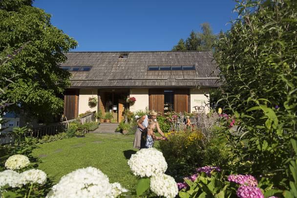 Das Kraeuterhaus im Kraeuterdorf Irschen