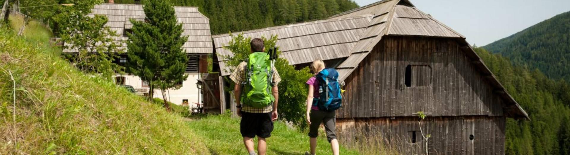 Mit den richtigen Wandergepäck die Nockberge erwandern.