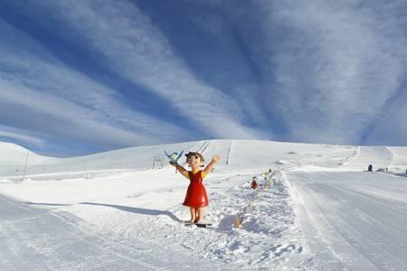 Heidi´s Schneealm am Falkert.