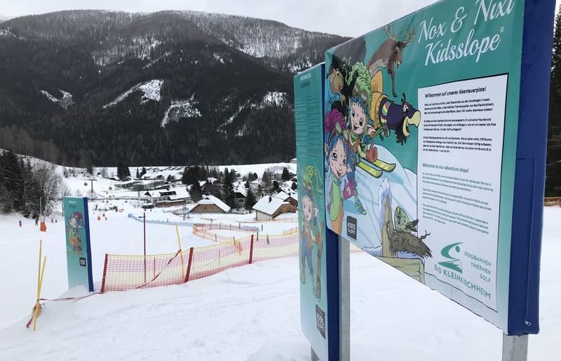 Nox und Nixi Kidsslope in Bad Kleinkirchheim