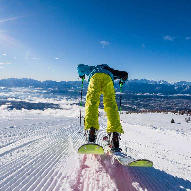 Villach Advent Winter Skifahren Gerlitze