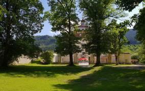 Schloss Poeckstein Gartenanlage