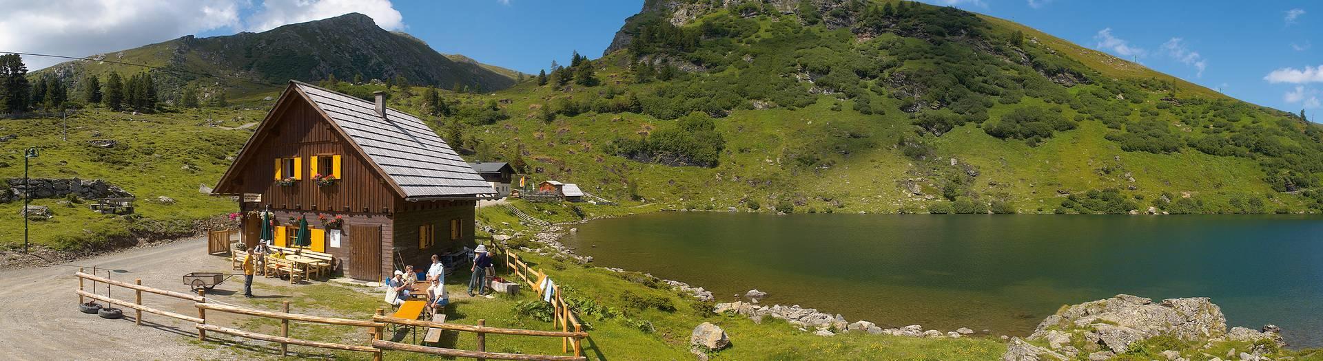 Alpe-Adria-Trail Falkertsee Halter Huette