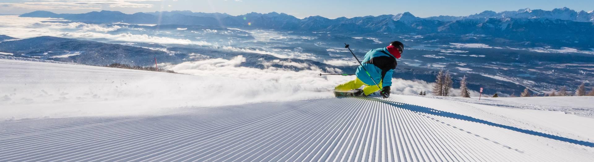 Region Villach Winter Gerlitzen Ski Michael Stabentheiner
