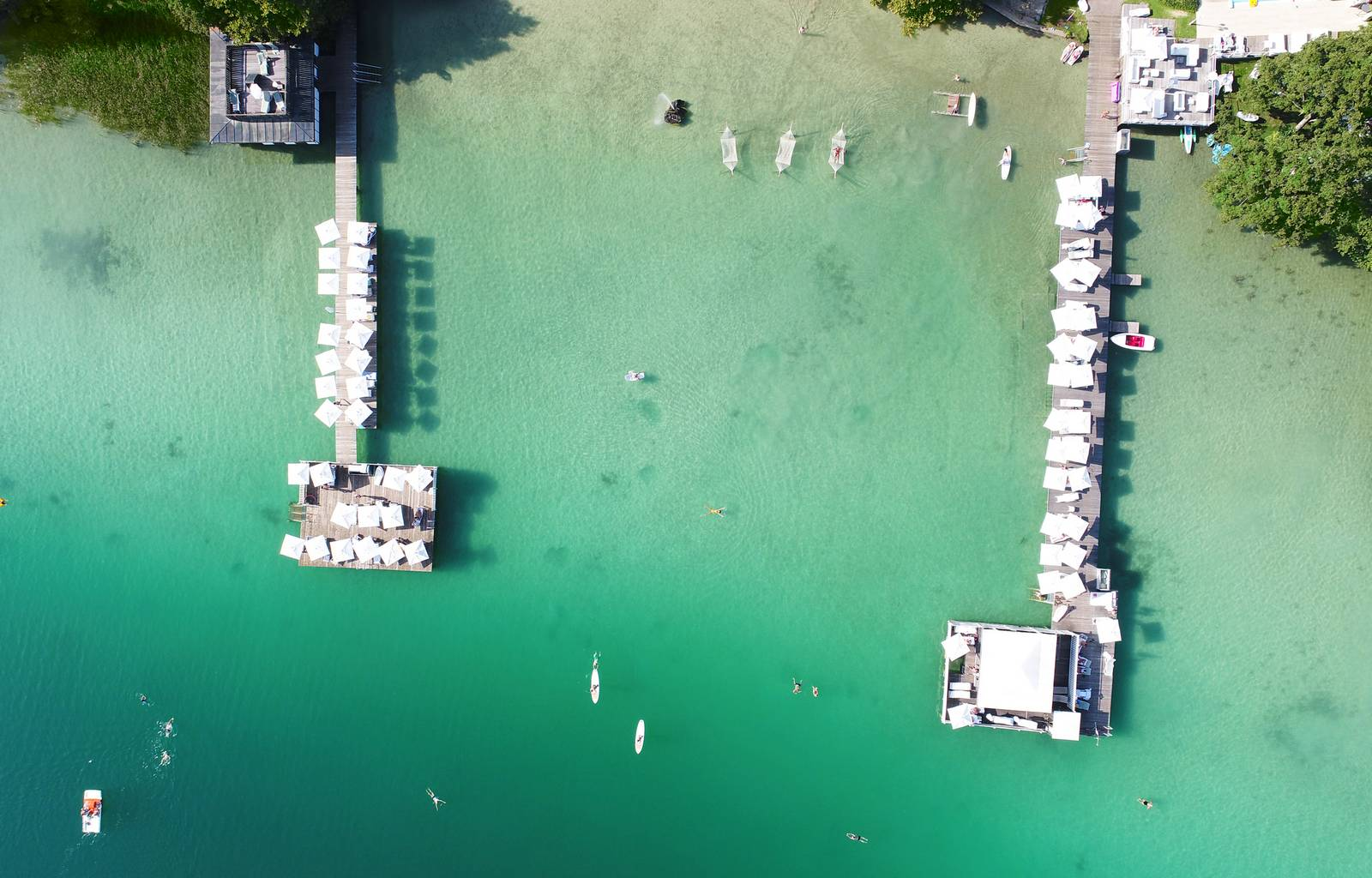Amerika Holzer Hotel Resort Bucht Klopeiner See