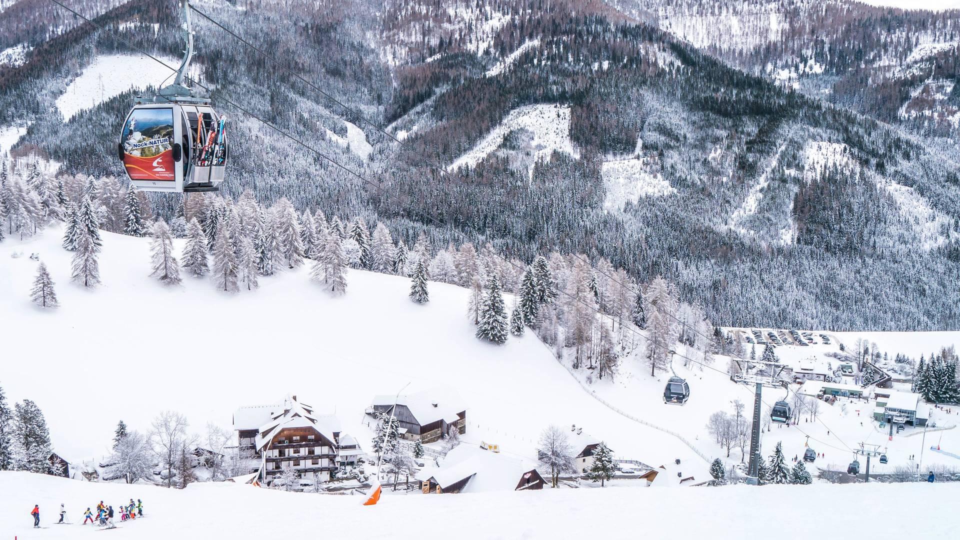Biobauernhof Hinteregger Bad Kleinkirchheim_Winter in St. Oswald