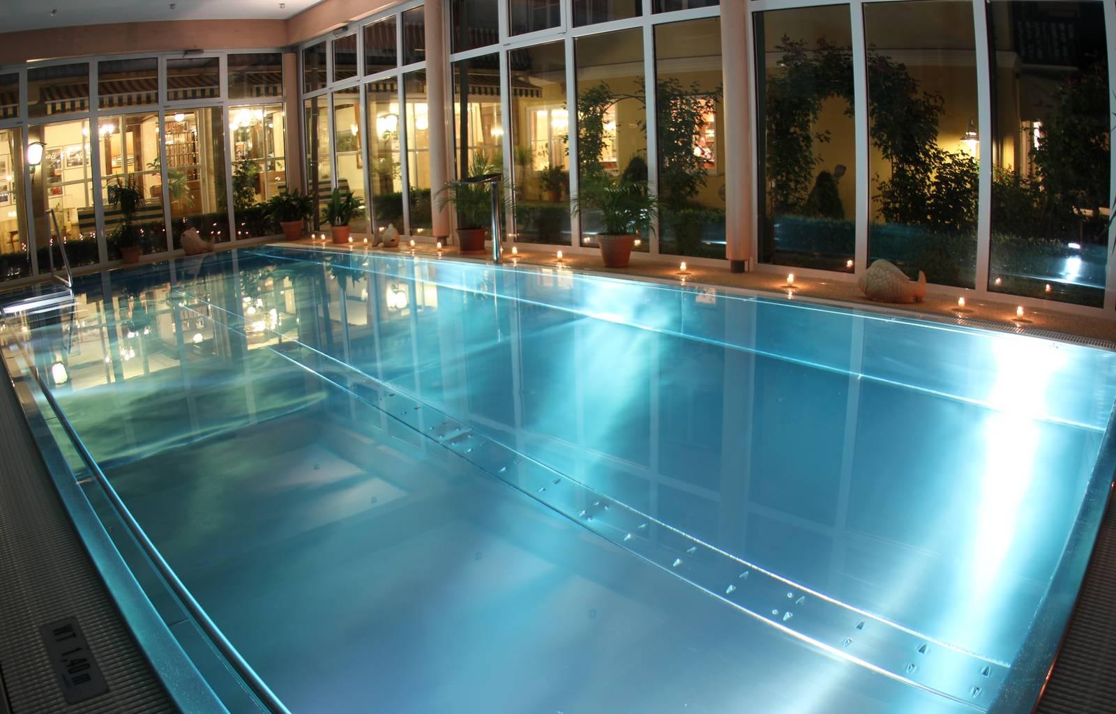 Hotel am See Die Forelle Hallenbad