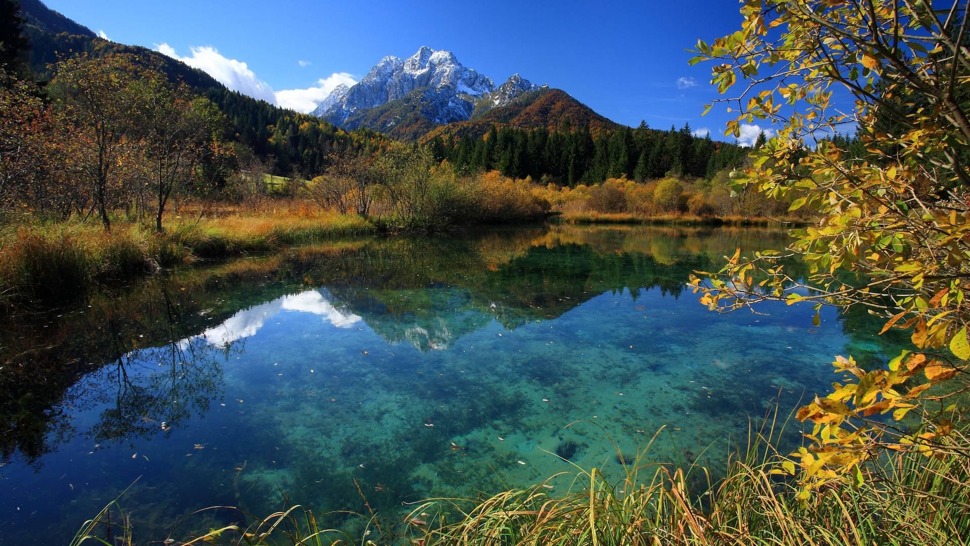 Alpe-Adria-Trail RT6 Naturreservat Zelenci