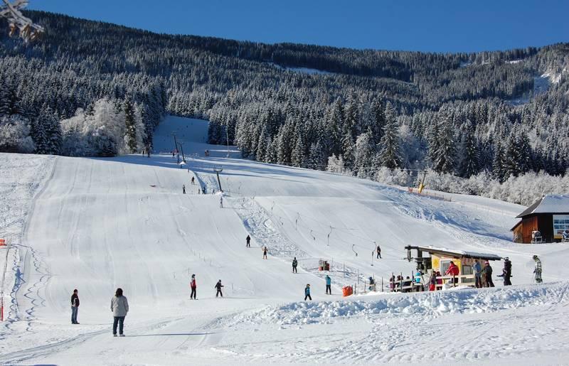 Skiflift im Gitschtal - Weissbriach