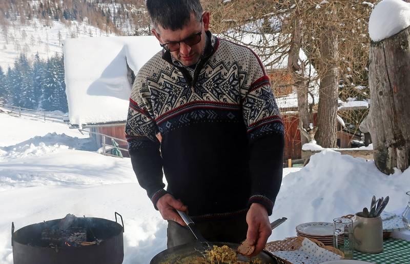Gourmet im Schnee in Bad Kleinkirchheim Klamerhütte