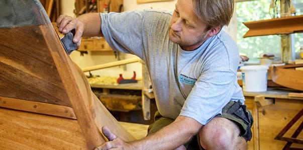 Der Bootsbauer Michael Winkler