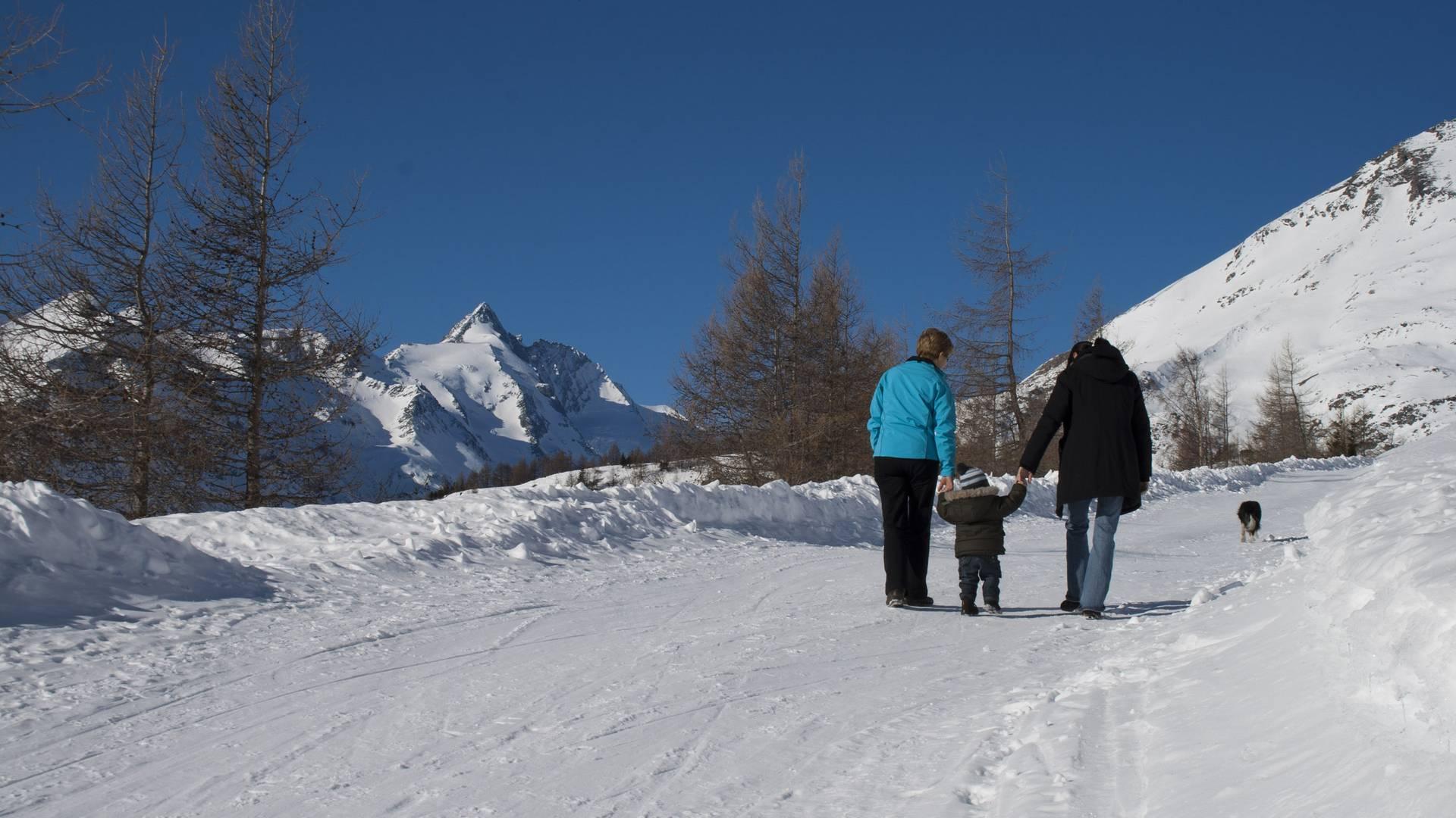 Winterwandern Kasereck
